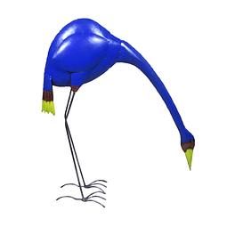 Garza latón azul