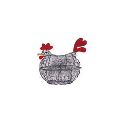 Gallina porta huevos