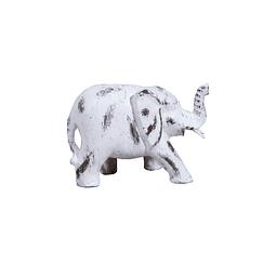Elefante con aguada blanco