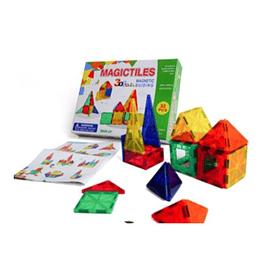 Bloques magnéticos Magic Tiles 60 piezas