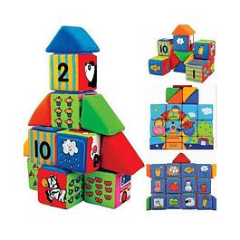 Cubos y Triángulos de Aprendizaje Ks Kids