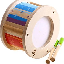 Tambor de madera Hape