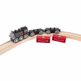 Tren de carga a vapor Hape