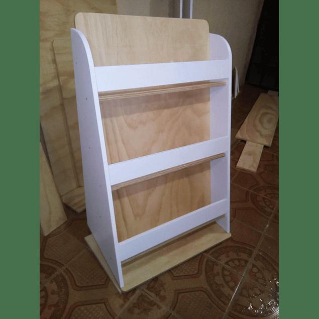 Librero de madera infantil mixto 90*120 cm