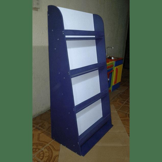 Librero de madera infantil color 90*120 cm