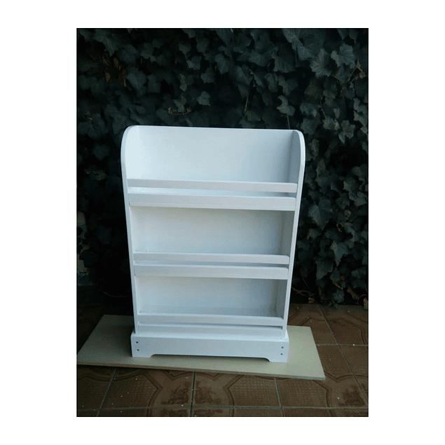 Librero de madera infantil recto 90*60 cm