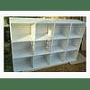 Organizador de madera, 100*150*35 cm color a elección