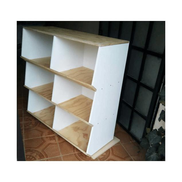 Juguetero de madera, mixto 100*100*35 cm