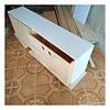 Cajonera de madera, mixta 100*40*40 cm (2 cajones)