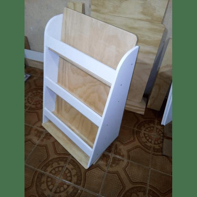 Librero de madera infantil mixto 90*60 cm