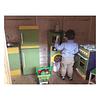 Rincón de cocina juguete de madera de colores