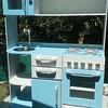 Mueble de cocina juguete, grande de colores