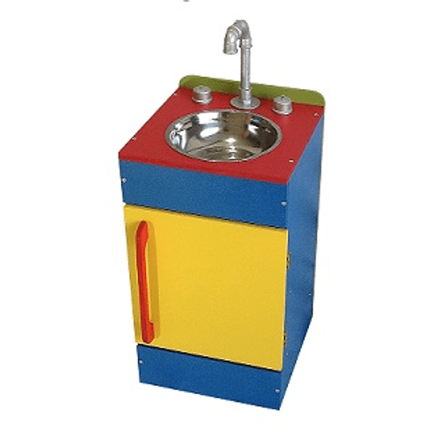 Pack cocina - lavaplatos - Refrigerador de juguete  de colores