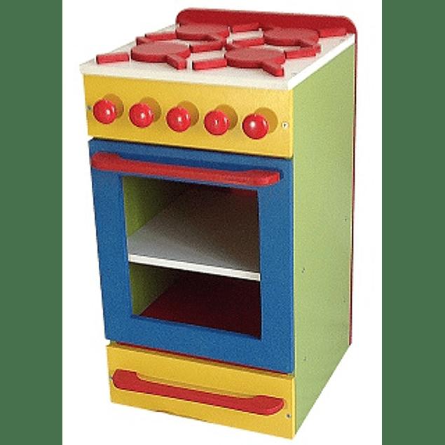 Cocina de madera juguete Color