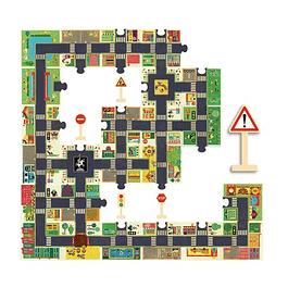 Puzzle Gigante en la Ciudad