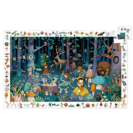 Puzzle Observación Bosque Encantado 100 piezas