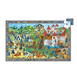 Puzzle Observación Caballeros 54 piezas