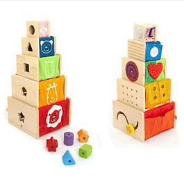 Cajas Apilables con Actividades