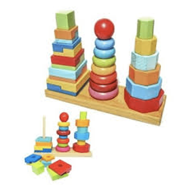 Torre Triple de Madera