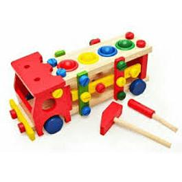 Camión Mecano de madera