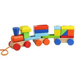 Tren de madera Color
