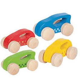 Mini Auto de Madera Hape
