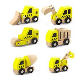 Set de camiones de construcción