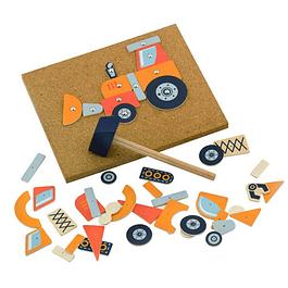 Juego de Martillar - Vehículos de Construcción