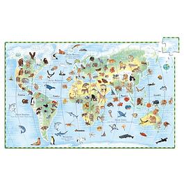 Puzzle Observación Mundo de Animales