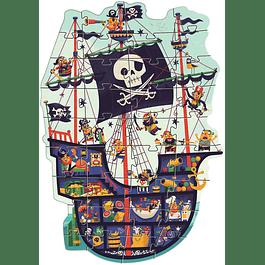 Puzzles Gigante Barco Pirata