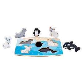 Puzzle de animales del polares Hape