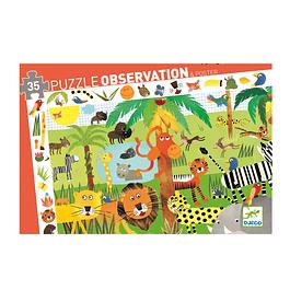Puzzle Observación Selva 35 piezas