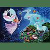 Puzzle Hada y unicornio 36 piezas