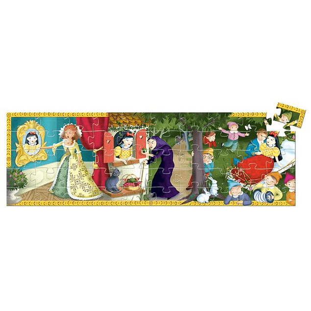 Puzzle Blanca Nieves 50 piezas