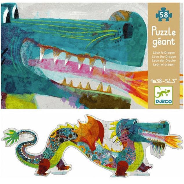 Puzzle gigante Dragón