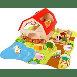 Caja de juego granja