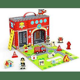 Caja de juego Estación de bomberos