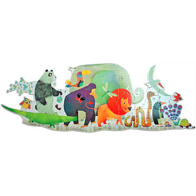 Puzzle Gigante Animal Parade