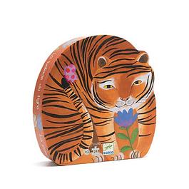 Puzzle silueta tigre