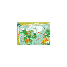Puzzle Observación Al rededor del mundo