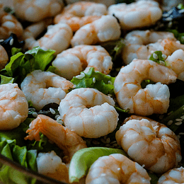 Camarones Crudos con Cáscara 36/40 Kilo
