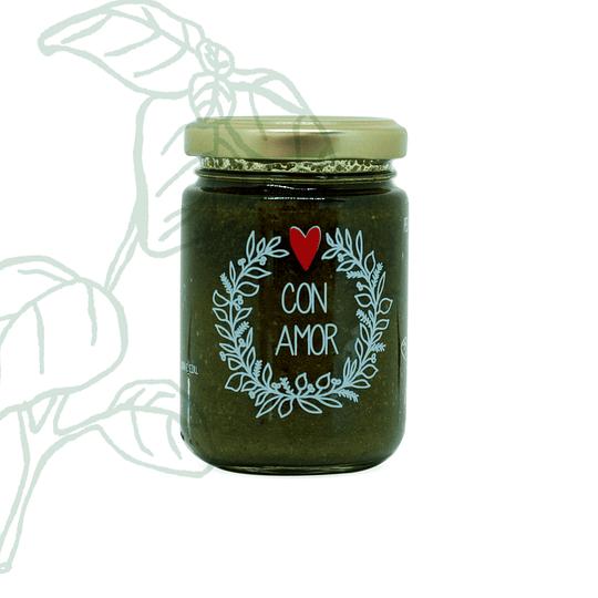 Pesto de Albahaca sin Ajo