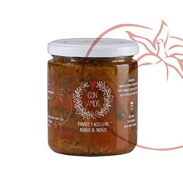 Tomates y Aceitunas Asadas