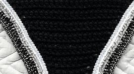 Black Triple Sparkle Bonnet