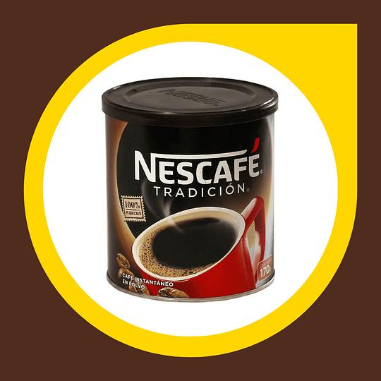 Cafe Instantaneo Nescafe Tradicion 170gr