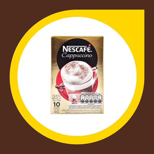 Sobres Nescafe Capucchino 140gr