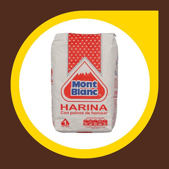 Harina con Polvos de Hornear 1kg