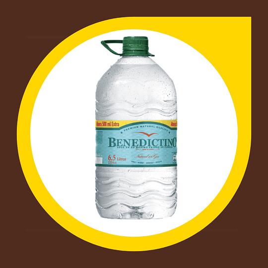 Bidon de Agua sin Gas 6,5lt