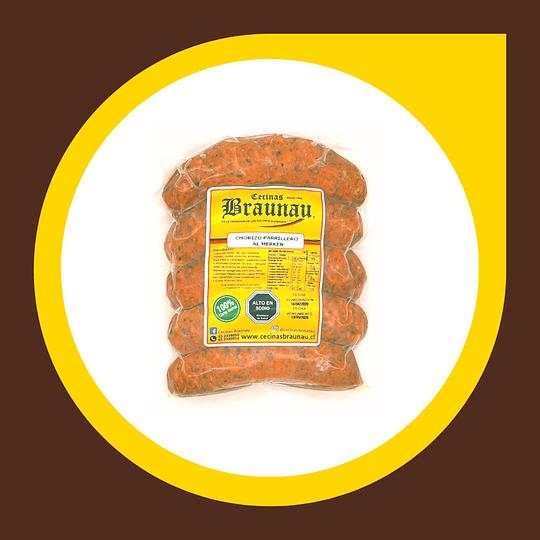 Chorizo al Merken 1/4 Kilo