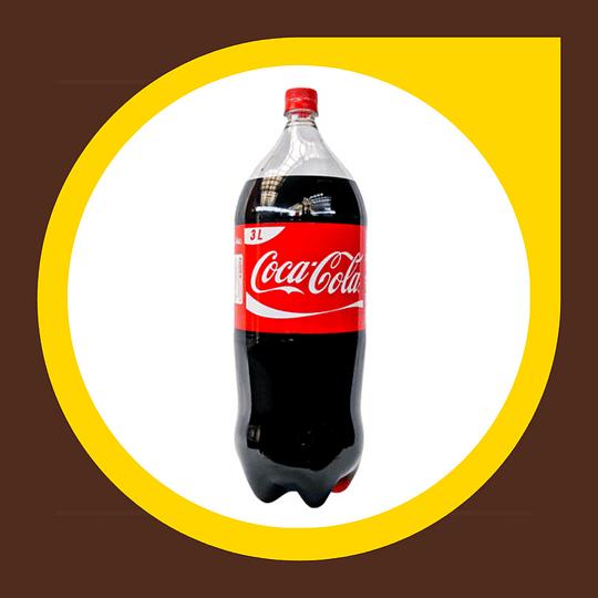 Coca Cola Original Desechable 3lt